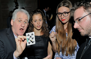 Chicago Party Magician entertains