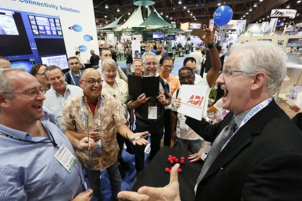 Crowd Draw at InfoComm Tradeshow